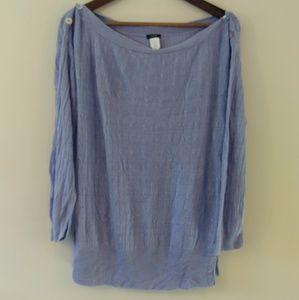 J. Crew XL linen sweater